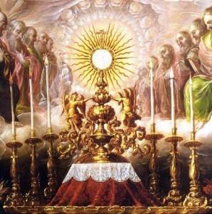 Resultado de imagem para santíssimo sacramento